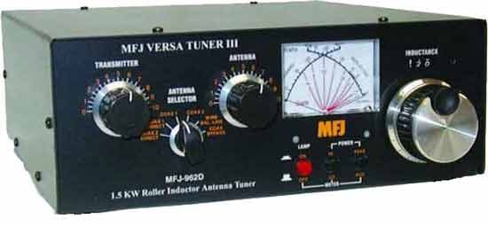 MFJ 962D Tuner