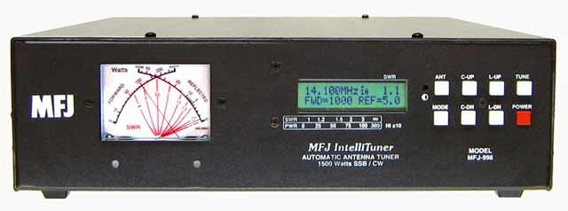 MFJ 998 Tuner