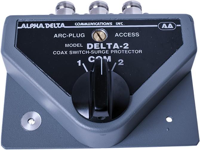 AlphaDelta Antennenschalter 2 x N-Buchse