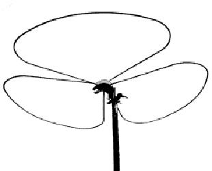 Big Wheel Antenne 144 MHz