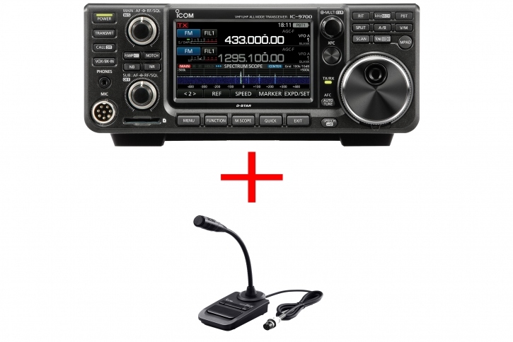 Icom IC-9700 SM-30 Bundle