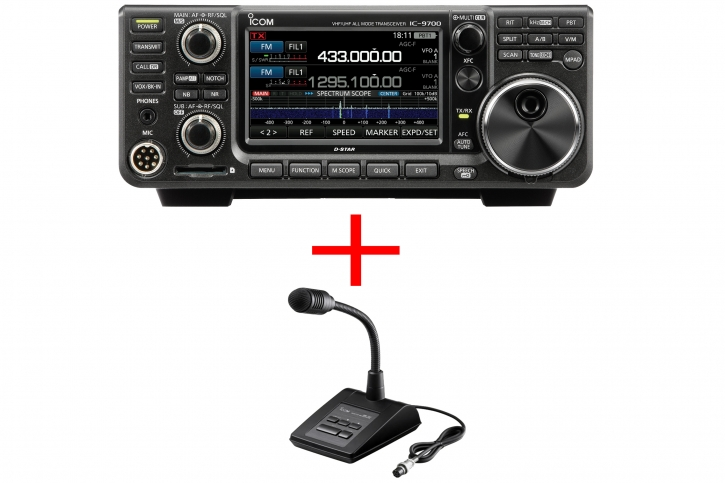 Icom IC-9700 SM-50 Bundle