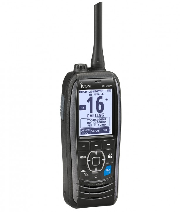 Icom IC-M93D Aussteller