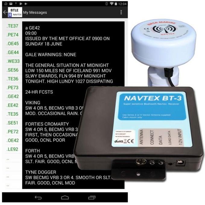 Nasa Navtex BT3