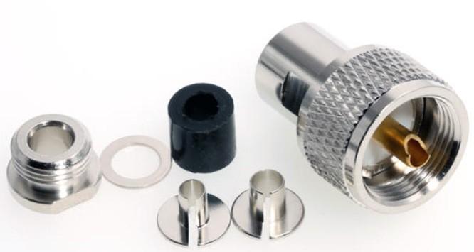 PL Stecker 5mm Clamp