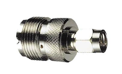 Adapter SMA Stecker / UHF Buchse