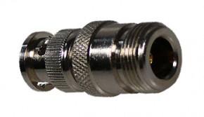 Adapter BNC Stecker / N Buchse