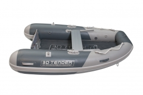 3D Tender Twin Fastcat 280 / Schwarz / Grau